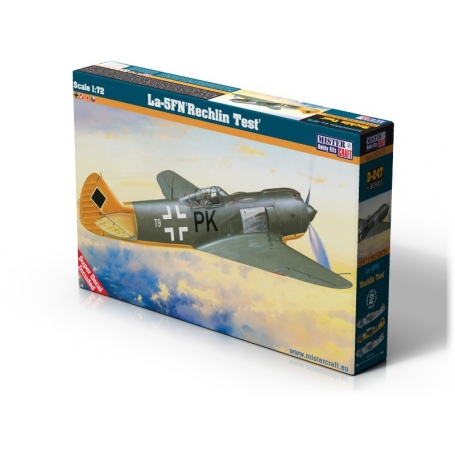 D-247 La-5 FN  Rechlin  Test