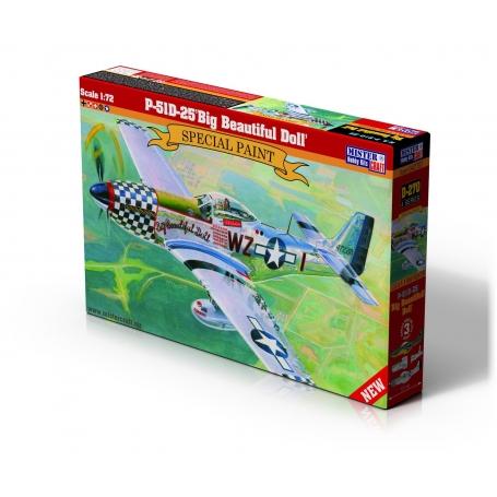 D-270 P-51D-25 Big Beautiful Doll   1:72