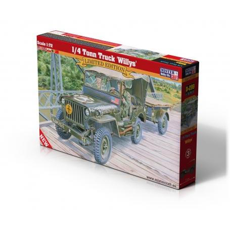 D-299 1/4 Tonn Truck Willys   1:72