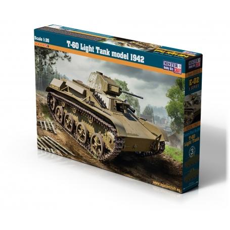 E-02 T-60 Light Tank Model 1942  1:35