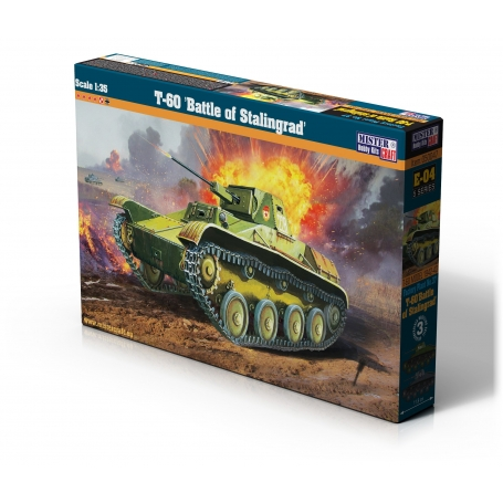 "E-04 T-60 ""Battle of Stalingrad   1:35"