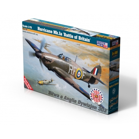D-180 Hurricane Mk.Ia Battle of Britain   1:72