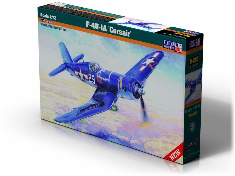 D-205 F-4U-1A Corsair   1:72