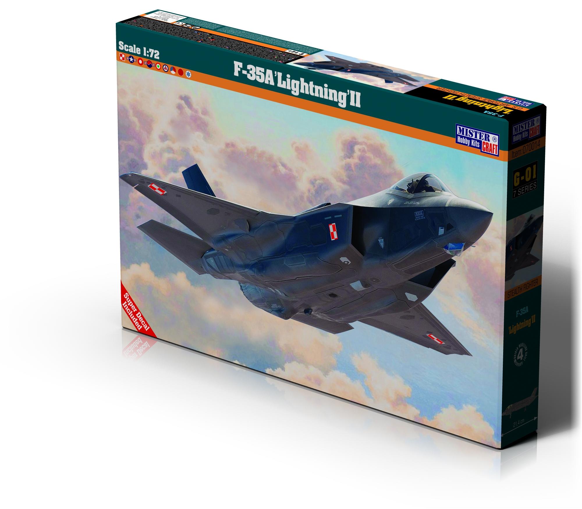 "G-01 F-35A ""Lightning II"" 1:72"
