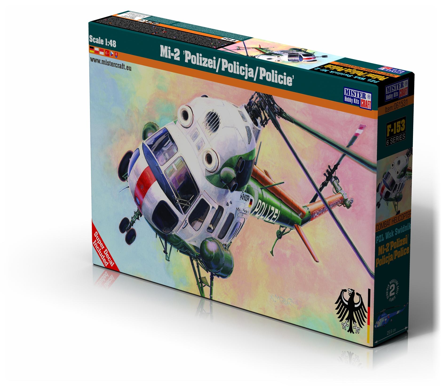 """F-153 Mi-2""""Polizei/Policja/Policie 1:48"""