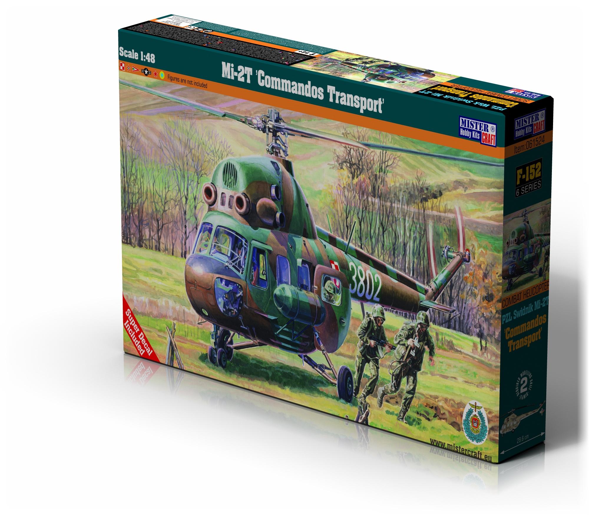 F-152 Mi-2T Comandos Transport 1:48