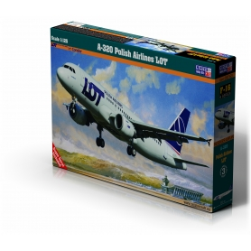 F-16 A-320 Polish Airlines 'LOT' 1:125