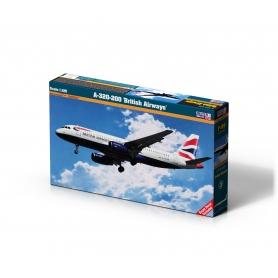 F-09 A-320-200 British Airways 1:125