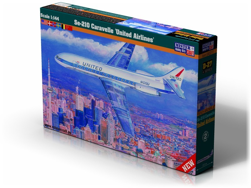 D-27 Se-210 United Airlines    	1:144