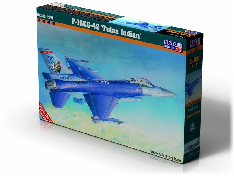 D-105 F-16C Block 42 Tulusa Indians   1:72