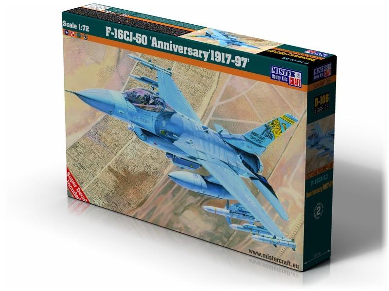 D-106 F-16CJ 50 Anniversary   1:72