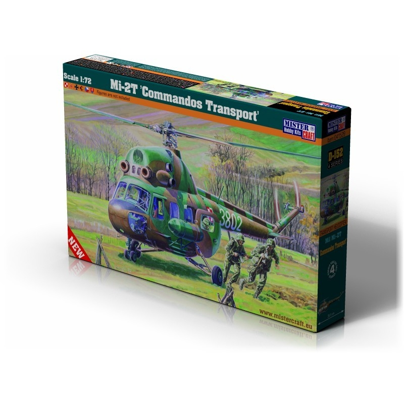 D-152 Mi-2T Comandos Transport   1:72