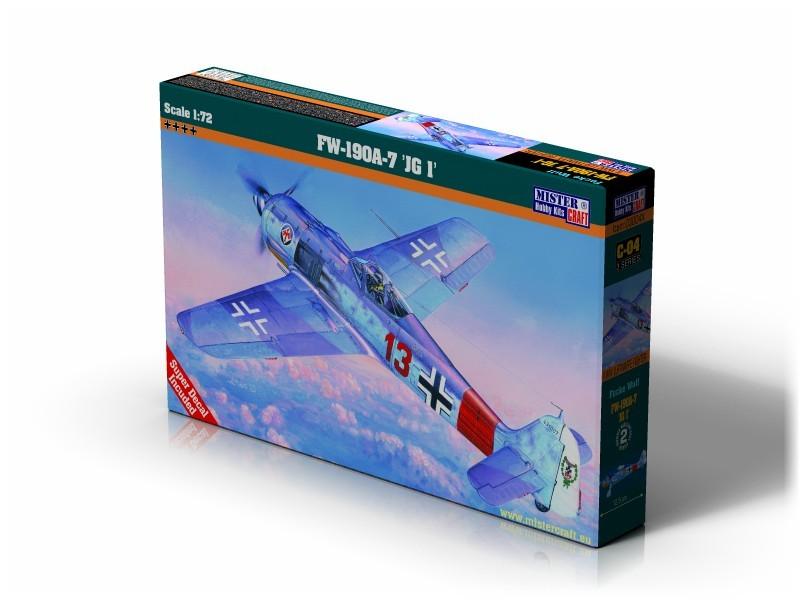 C-04 Fw-190 A-7 JG 1   1:72