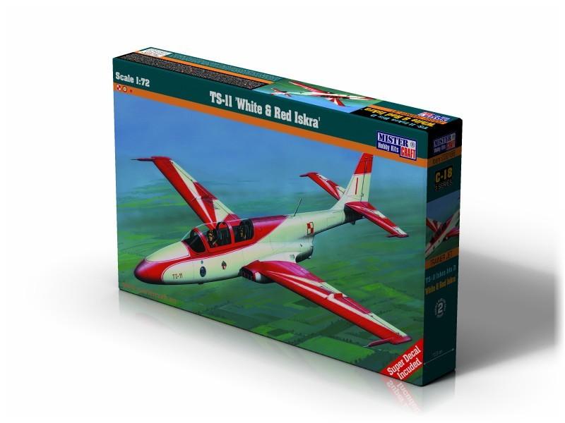 C-22 TS-11 White & Red Iskra   1:72