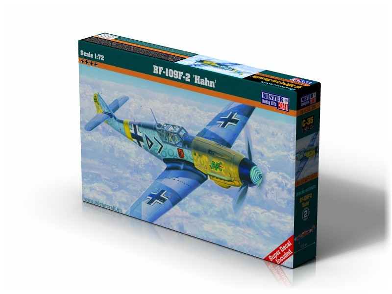 C-35 BF-109F-2 Hahn   1:72