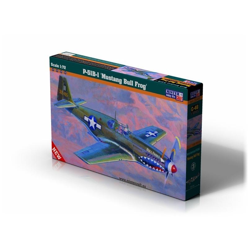 C-46 P-51B-5 Mustang Bullfrog I   1:72