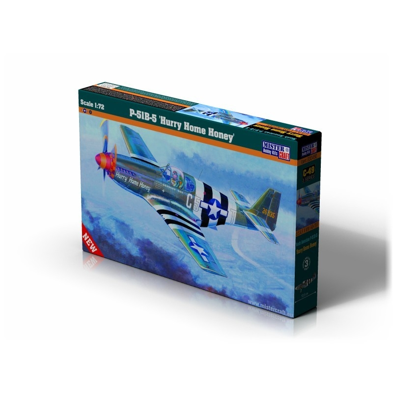 C-49 P-51B-5 Hurry Home Honey   1:72