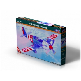 C-51 P-51B Mustang Swiss Air Force   1:72