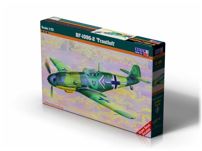 C-69 Bf-109G-2 Trautloft   1:72