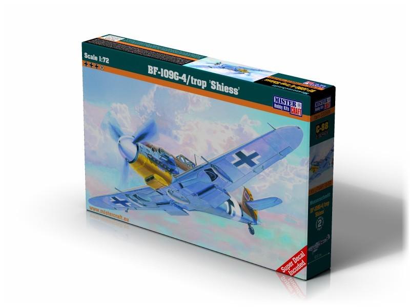 C-88 BF-109G-4/Trop Schiess   1:72