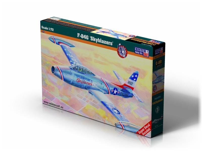 C-89 F-84G Skyblazers   1:72