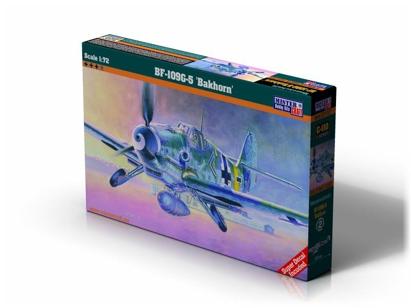 C-107 Bf -109G-5 Barkhorn   1:72