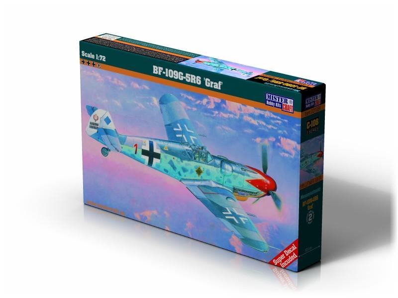 C-108 Bf-109 G-5 R6 Roten Jäger   1:72