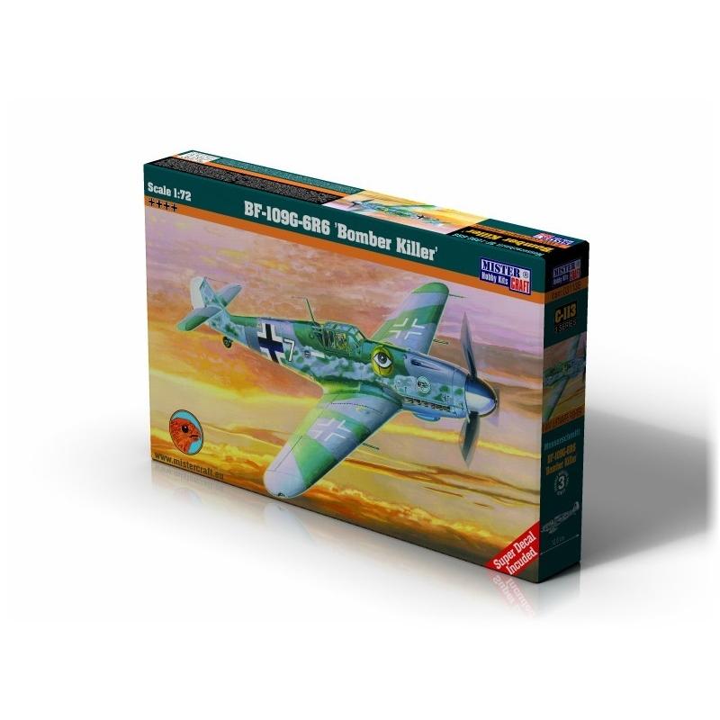 C-113 BF-109G6R6 Bomber Killer   1:72