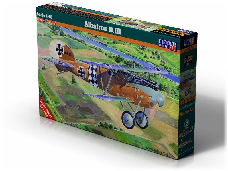 D-232 Albatros D.III   1:48