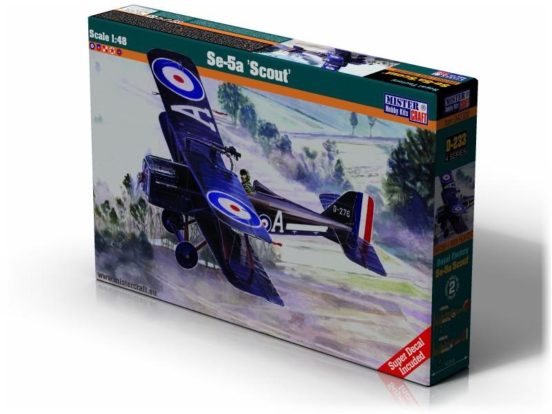 D-233 Se-5A Scout   1:48