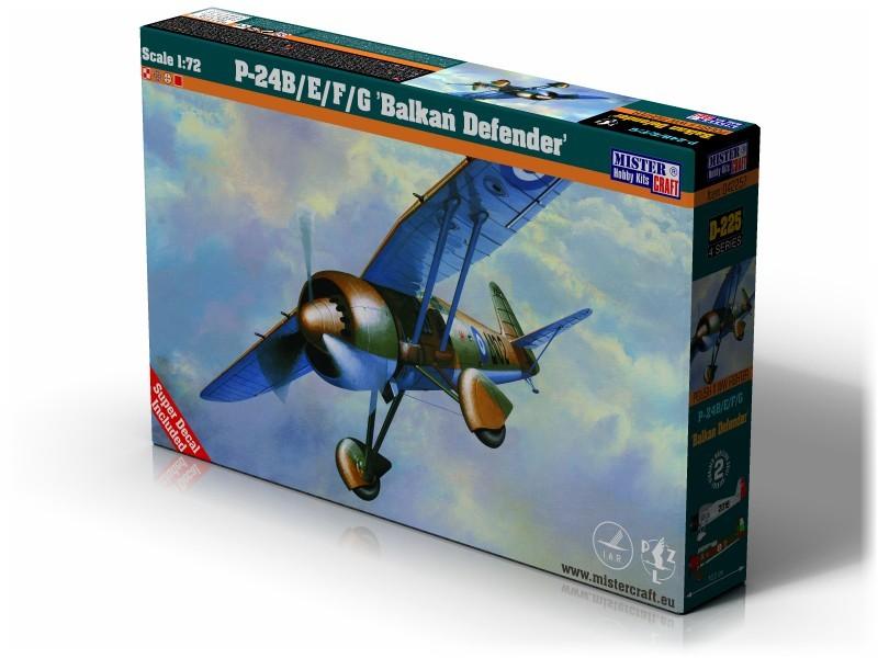 D-225 PZL P-24B/E/F/G Balkan Defender   1:72