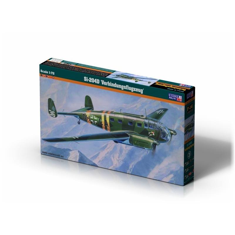 "Mistercraft F-15-1:72 Si-204A /""Passagierflugzeug/"" Neu"