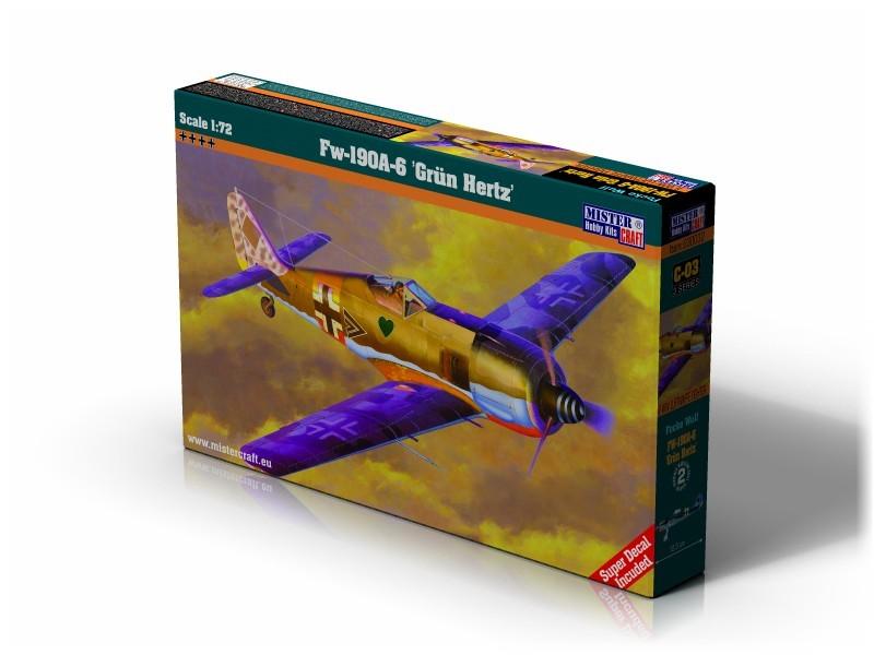 C-03 Fw-190A-6 Grun Hertz   1:72