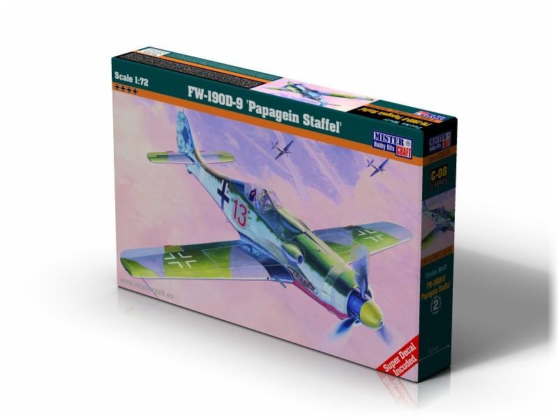 C-08 Fw-190 D-9 Papagein Staffel   1:72