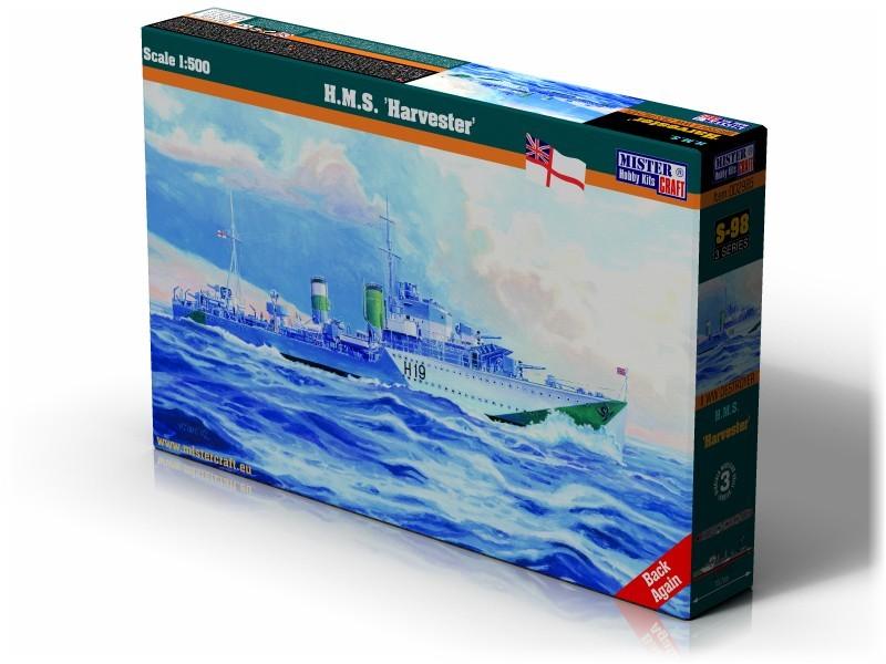 S-98 HMS Harvester   1:500