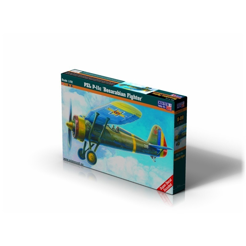 B-09 PZL P-11c Besarabian Fighter   1:72