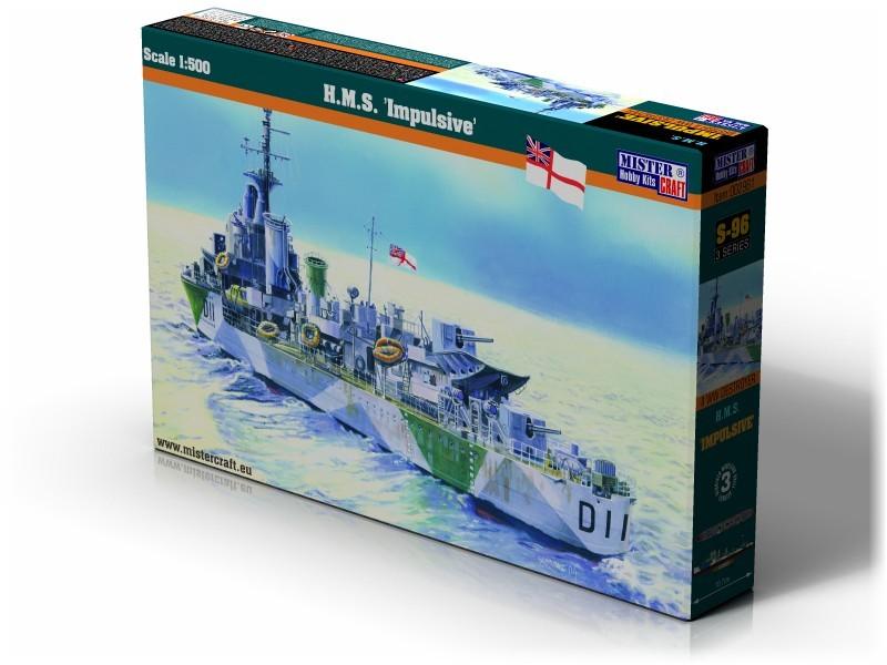 S-96 HMS Impulsive   1:500