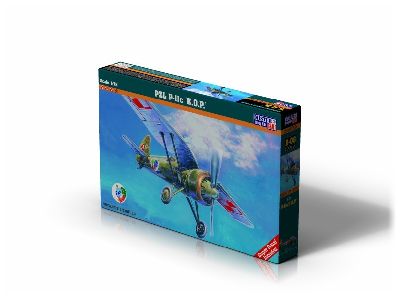 B-08 PZL P-11C K.O.P.   1:72