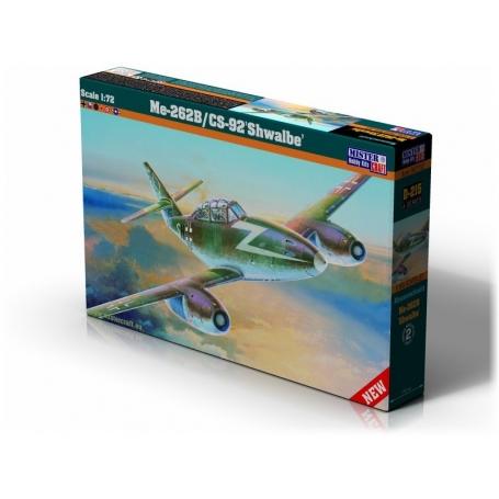 D-215 Me-262B-1a Doppelsitzsiger   1:72