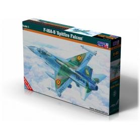 D-03 F-16 A-15 Spitfire Falcon   1:72