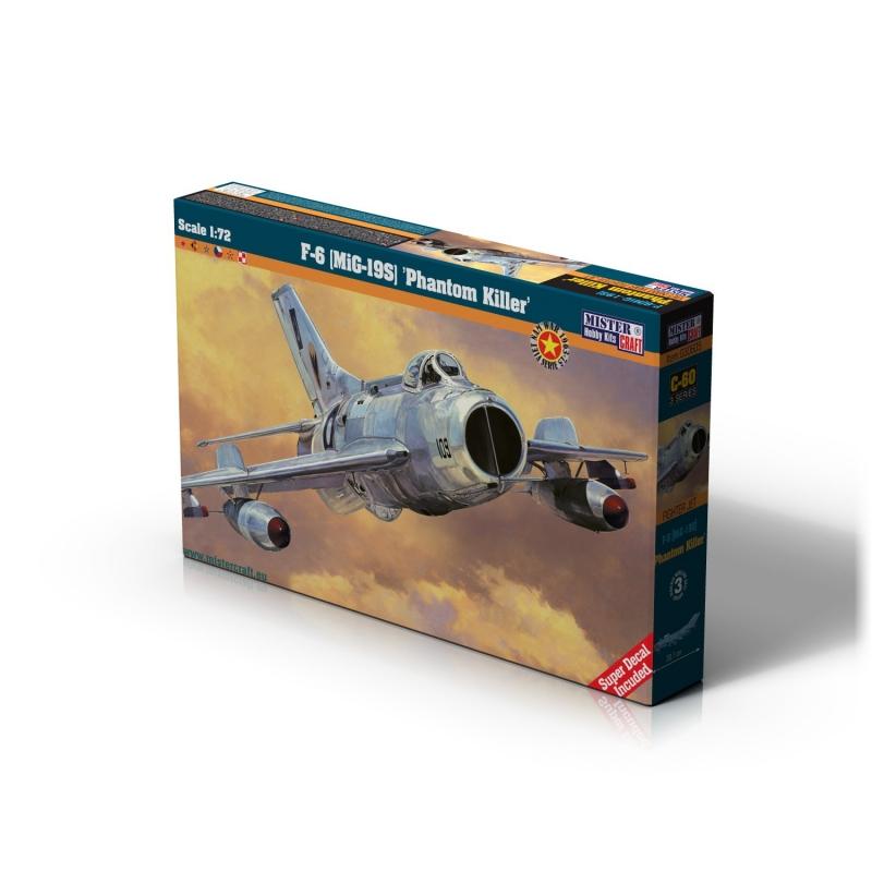 C-60 F-6 (MIG-19S) Phantom Killer   1:72
