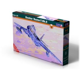 D-10 Hawker Hunter F.Mk.6    1:72