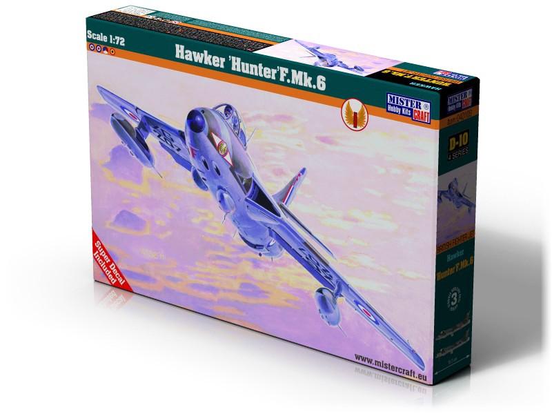 D-10 Hawker Hunter F.Mk.6    1:72