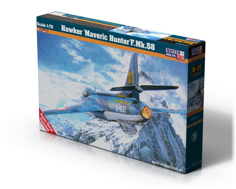 D-11 Hawker Maveric Hunter F.Mk.58
