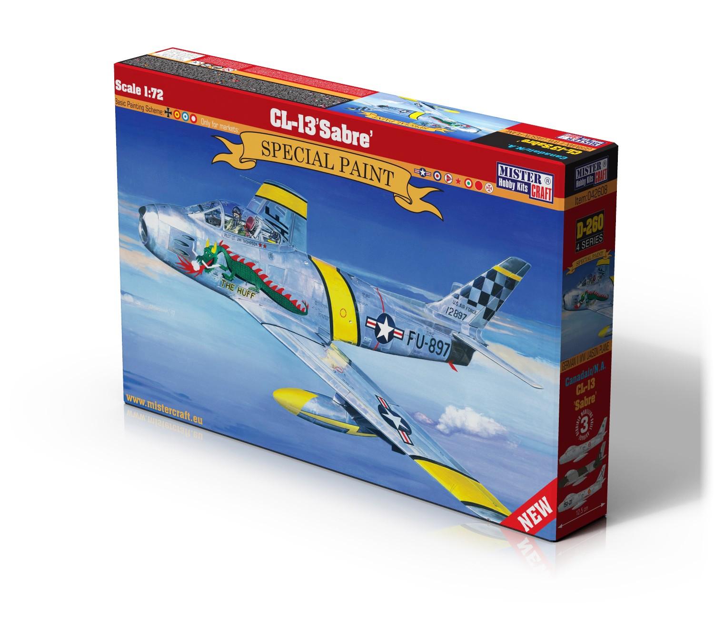 D-260 CL-13/F-86F Sabre   1:72