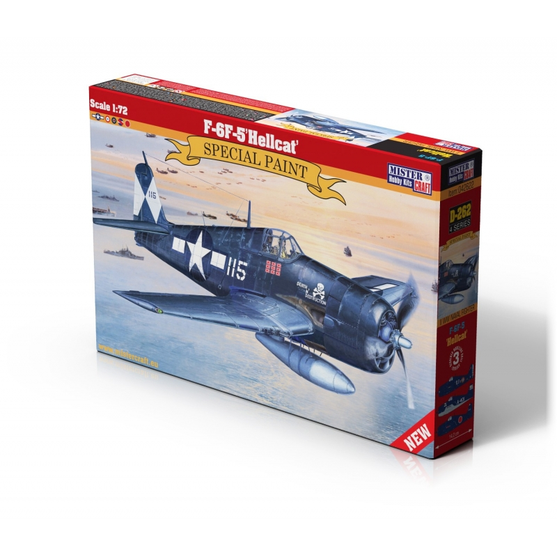 D-262 F-6F-5 Hellcat   1:72