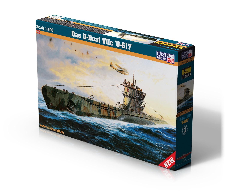 D-290 Das U-Boat VIIC U-617   1:400