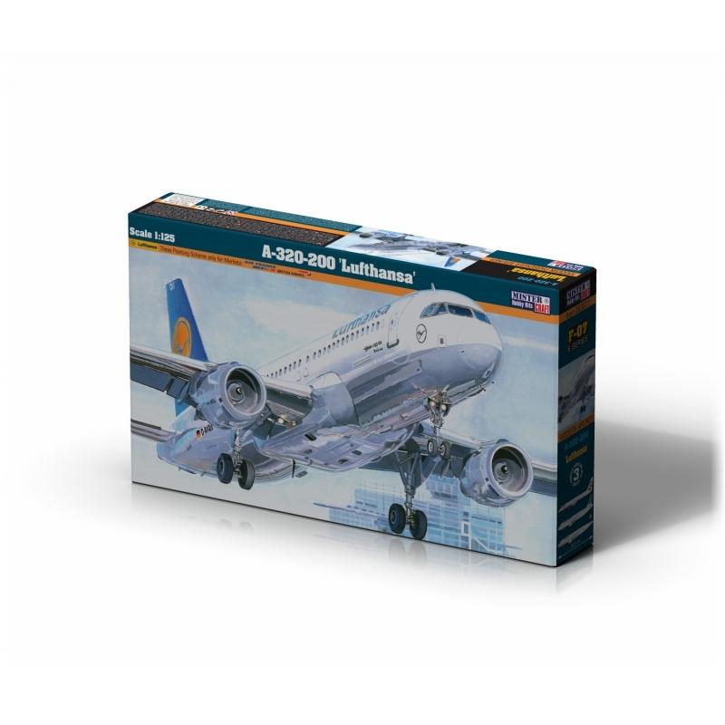 F-08 A-320-200 Lufthansa   1:125