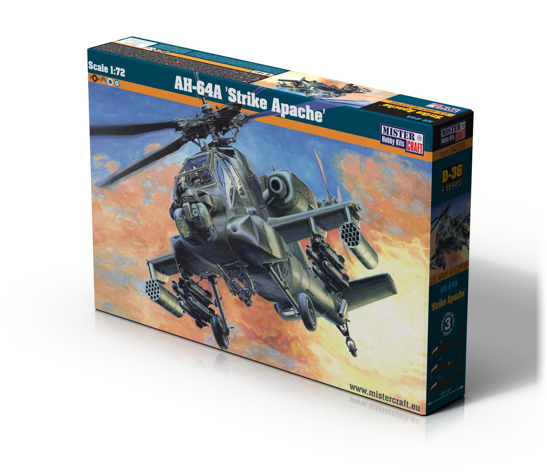 D-36 AH-64A Strike Apache   1:72