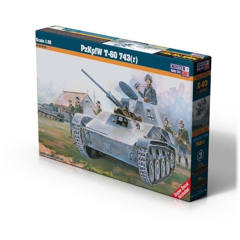 E-03 PzKpfW T-60 743r   1:35